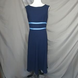 Maggy London dress, navy, size 12